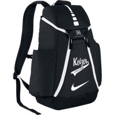 Keizer • 25: Nike Elite Max Air Team 2.0 Backpack - Black with White Logo