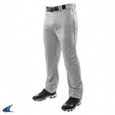 Keizer • 18: Adult-Size - Champro Triple Crown Open Bottom Baseball Pants - Gray
